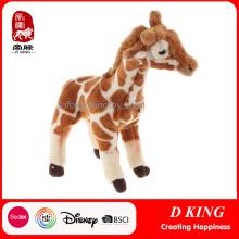 Juguetes de peluche baratos a medida de jirafa rellena de animales salvajes