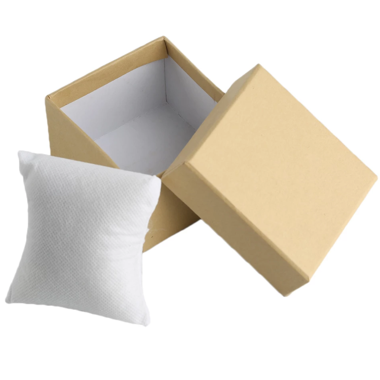 Light Yellow Paper Box Watch Display Case 6 Png