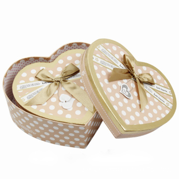 Offset Paper Empty Heart Chocolate Chocolate Packaging Box
