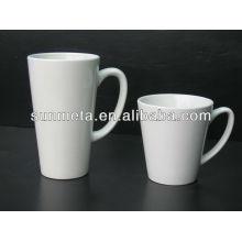 Tasse de sublimation de Sunmeta Tasse de café de 12 oz 17 oz