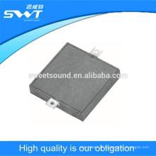 Buzzer pequeno fábrica 3v smd transdutor piezoelétrico alarme alarme 16mm SMD