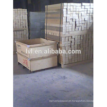 Blocos de madeira comprimidos para fundo de paletes de madeira