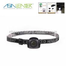 Moda de diseño Mini LED antorcha principal y faros