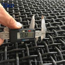 qualitativ hochwertige Produkte Stein Crusher Vibrating Screen Mesh gekräuselten Drahtgeflecht (Anping Herstellung)