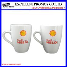 Taza de cerámica colorida brillante impresa para promocional (EP-M9155)