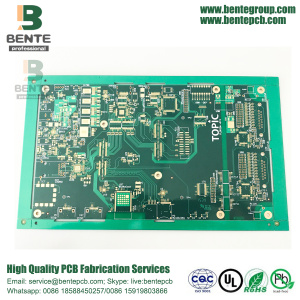 High TG PCB Impedance Control 6 Layers FR4 Tg180 PCB ENIG