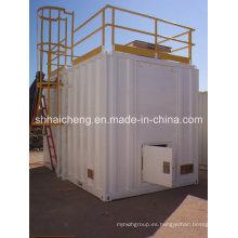 Precio de la casa de contenedor prefabricado de tipo dormitorio