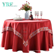 Embroidery Luxurious Outdoor Table Cloth