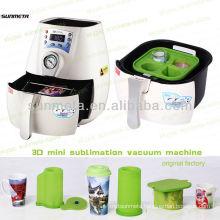 2014 New mini 3d sublimation vacuum heat press machine , shot glass mug printing machine for sale