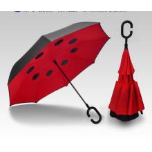 Creative Double Reverse Car Umbrella