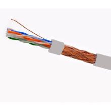 Cabo SFTP CAT6 LSZH Fluke testado Soild Bare Copper Grey