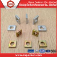 Galvanized DIN562 Square Head Thin Nut