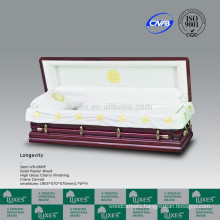 LUXES European American Style Colors Of Caskets Hand Carved Caskets