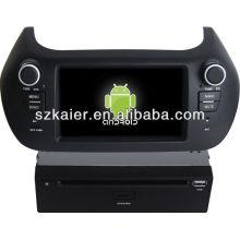 reproductor de DVD para coche para el sistema Android Fiat Fiorino
