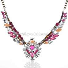 Colorful Angel Wings Shape Amazing Necklace For Ladies