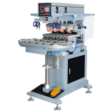 Automatic Turntable 4 Color Tampo Printing Machine
