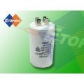 Condensador electrolítico Cbb60 1.5 a 60UF del funcionamiento del motor de la CA 450ma de Topmay