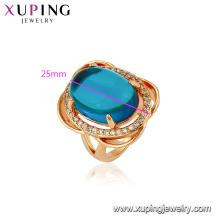 13183 Xuping стильный Кристалл циркон 18k кольцо подарок на Рождество