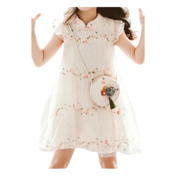 Vestido de princesa elegante para meninas