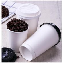 Manchon de tasse de papier chaud, manchon de tasse de café en papier personnalisé avec logo, gobelets en papier de café