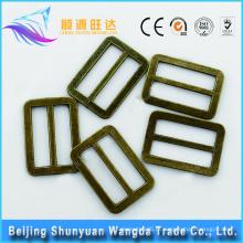 Alta qualidade personalizada design latão bloqueio metal cinta bolsa clip cinto fivela