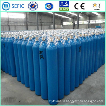 40L High Pressure Seamless Steel Welding Oxygen Cylinder (ISO9809-3)