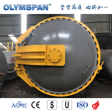 ASME standar fiber glass bonding autoclave