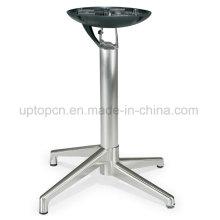 Wholesale Foldable Brushing Aluminum Alloy Table Base (SP-FTL073)