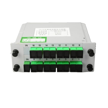 1 * 16 Sc / Apc Plug-In Type Plc Splitter