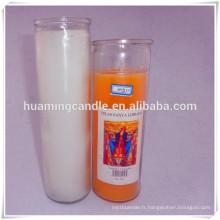 Grandes bougies décoratives bougie parfumée