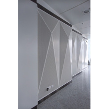 Paneles perforados de aluminio de la decoración de la pared del panal