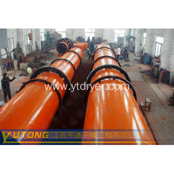 Coal, metal powder rotary drum dryer
