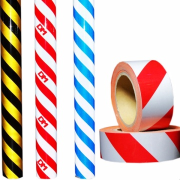 PET/Acrylic Type Stripe Warning Reflective Tape