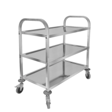 Dining trolley with large capacity