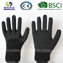 Gants de travail de sécurité en couche de nitrure et de nitrile (SL-NS115)