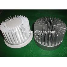 Disipador de calor LED de aluminio Heronsbill de la protuberancia