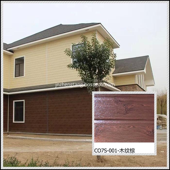 wood villa decorative