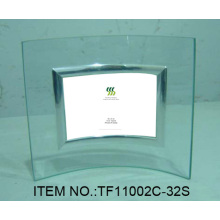 Simple Curved Glass Photo Frame