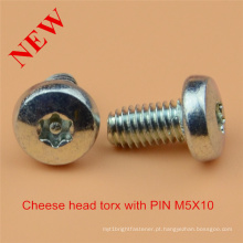 Cabeça de queijo Torx Pin Screw Safety Screw