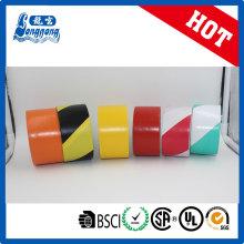 Doble barrera de PVC riesgo evitable cinta Color