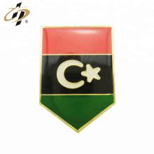 Perno de encargo de la solapa del esmalte de la resina de la bandera de Kuwait del oro del metal