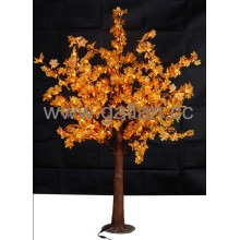 Factory Sale LED Artificial Mapletree 43W with Yellow and Red