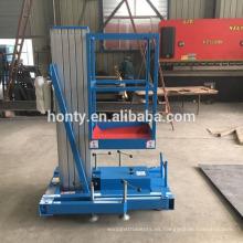 Escalera de plataforma de trabajo de aleación de aluminio Hontylift