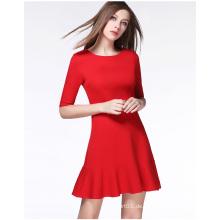 2016 Wholesale Fashion Casual Dress Sommerkleid für Damen