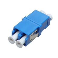 LC / Upc-LC / Upc Adaptador de Fibra Óptica Duplex de Um Modo