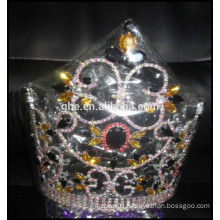 custom headdress, wholesale King fashion tiara beauty girl crowns and tiaras