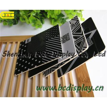 Высокое качество квадратный поглощено бумажные каботажные Судн Вит печатание 4C на обеих сторонах, Бирдекели (B и C-G106)