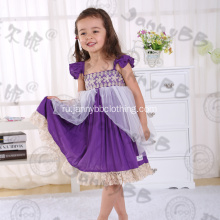 girls boutique purple tulle princess dress