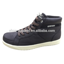 men's new casual shoes cheap pu leather cold cement shoes