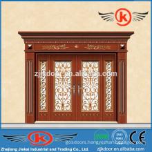 JK-C9040 tip-top quality villa carving copper art door